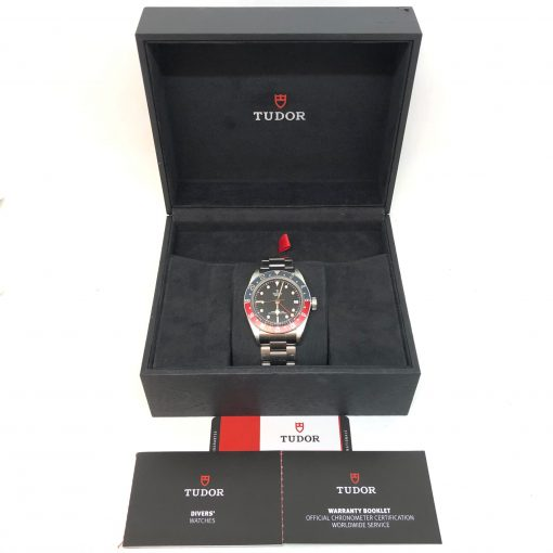 Tudor Black Bay Automatic GMT Men's Watch, Preowned-79830RB 4