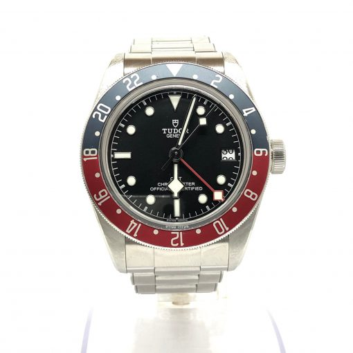 Tudor Black Bay Automatic GMT Men's Watch, Preowned-79830RB