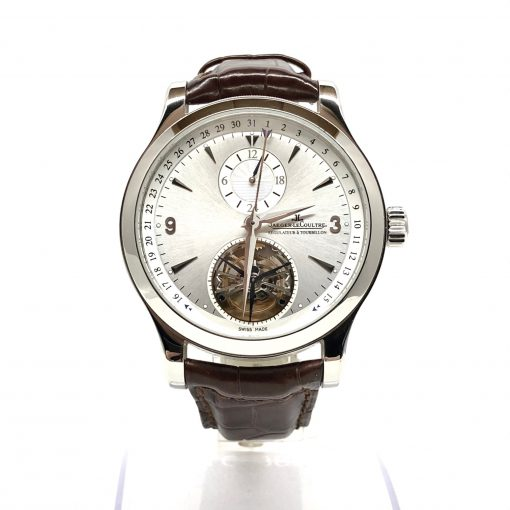 Jaeger LeCoultre Master Tourbillon Stainless Steel Men's Watch, Preowned-146.8.34.S 3