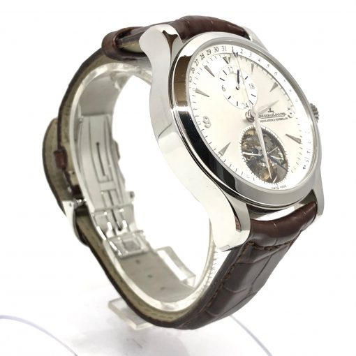 Jaeger LeCoultre Master Tourbillon Stainless Steel Men's Watch, Preowned-146.8.34.S 5