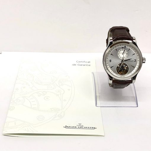 Jaeger LeCoultre Master Tourbillon Stainless Steel Men's Watch, Preowned-146.8.34.S 6