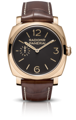 Officine Panerai Radiomir 1940 Oro Rosso Limited Edition 18K Rose Gold Men's Watch PAM00398
