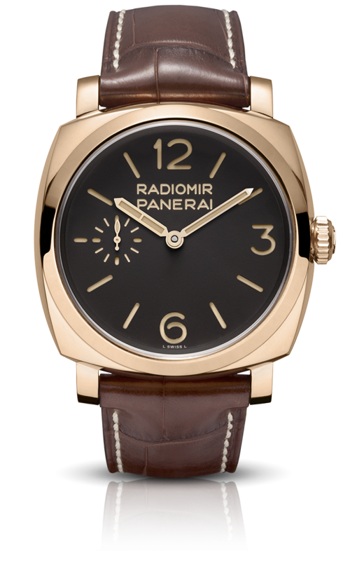 Officine Panerai Radiomir 1940 Oro Rosso Limited Edition 18K Rose Gold Men's Watch, PAM00398
