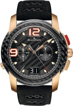Blancpain L Evolution Split Second Flyback Chronograph 18K Red Gold Men's Watch 8886F-3603-52B