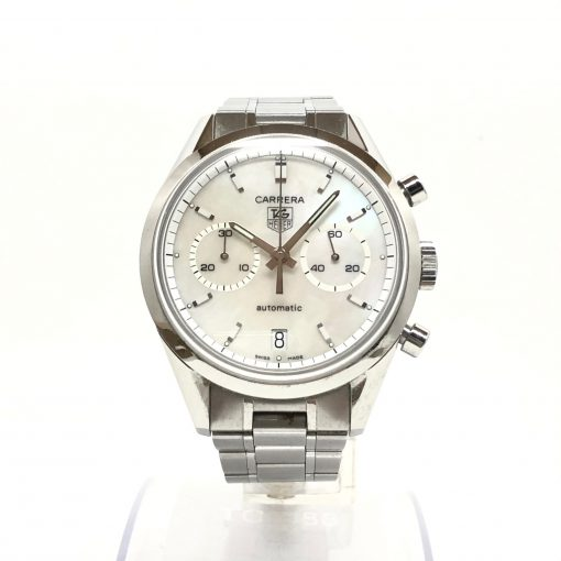 Tag Heuer Carrera Chronograph Stainless Steel Watch, Preowned-CV2115.FC6180