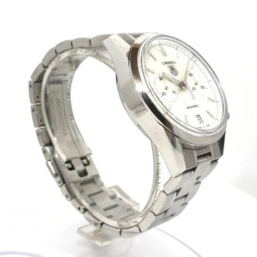 Tag Heuer Carrera Chronograph Stainless Steel Watch, Preowned-CV2115.FC6180 2