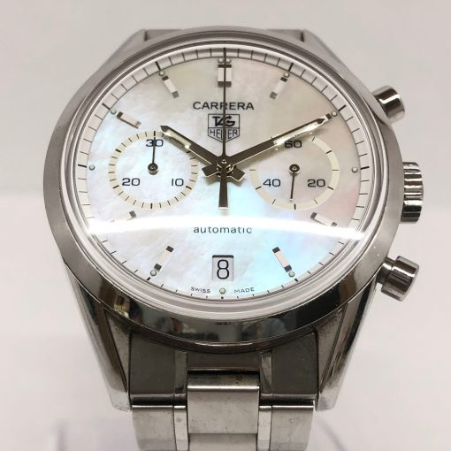 Tag Heuer Carrera Chronograph Stainless Steel Watch, Preowned-CV2115.FC6180 4