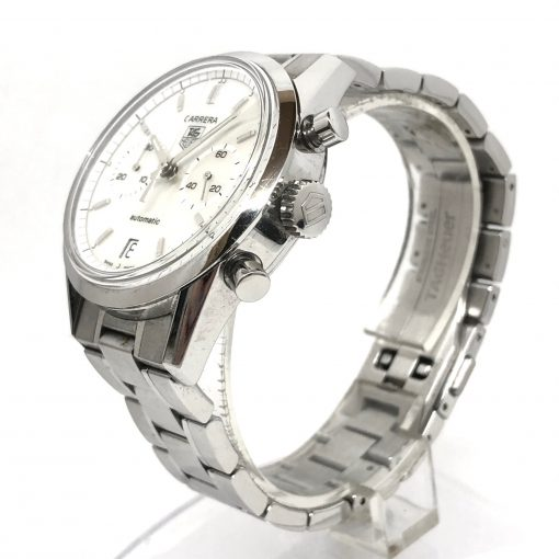 Tag Heuer Carrera Chronograph Stainless Steel Watch, Preowned-CV2115.FC6180 3