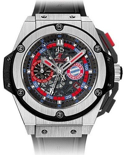 Hublot Big Bang King Power Bayern Munich Limited Edition Men's Watch, 716.NX.1129.RX.BYM12