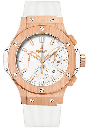 Hublot Big Bang Evolution 18K Rose Gold Chronograph Evolution Men`s Watch, 301.PE.2180.RW