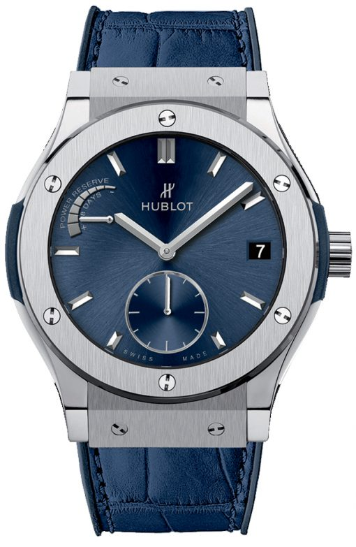 Hublot Classic Fusion 45mm Titanium Automatic Men's Watch, 516.NX.7170.LR