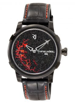Romain Jerome Eyjafjallajokull Evo Black PVD-coated Steel Men's Watch RJ.V.AU.003.02
