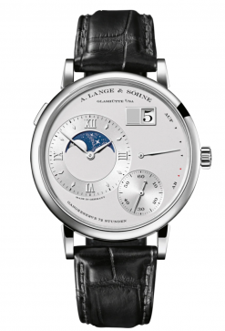 A. Lange & Sohne Grand Lange 1 Moonphase Platinum Men's Watch 139.025