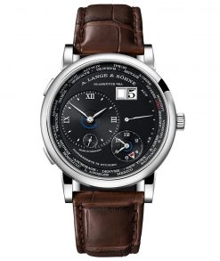 A. Lange & SohneLange 1 Time Zone 18K White Gold Men's Watch 136.029