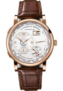 A. Lange & SohneLange 1 Time Zone 18K Pink Gold Men's Watch 136.032