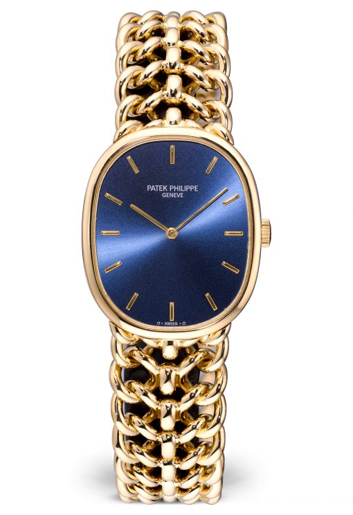 Patek Philippe Golden Ellipse 18K Yellow Gold Unisex Watch, Preowned-3848/019
