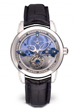 Ulysse Nardin Royal Blue Tourbillon Platinum Limited Edition Men's Watch Preowned-799-80