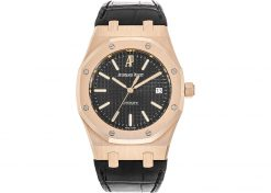 Audemars Piguet Royal Oak 18K Rose Gold 39mm Men's Watch Preowned-15300OR.OO.D002CR.01