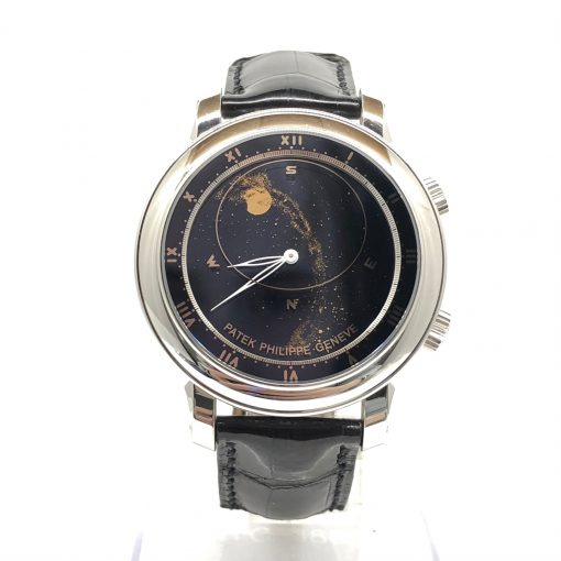 Patek Philippe Grand Complications 18K White Gold Men's Watch, Preowned-5102G-001 2