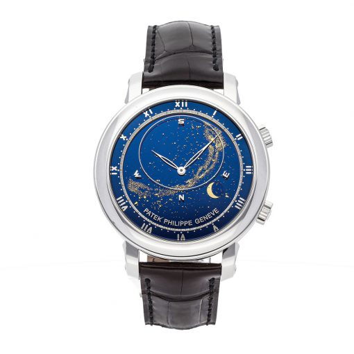 Patek Philippe Grand Complications 18K White Gold Men's Watch, Preowned-5102G-001