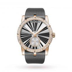 Roger Dubuis Excalibur 18K Rose Gold Ladies Watch Preowned-DBEX0275