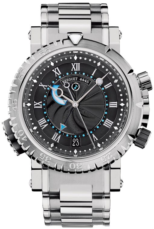 Brequet Marine Royale 5847 18K White Gold Men's Watch, Preowned-5847BB/92/BZ0