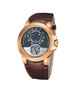 Harry Winston Ocean Tourbillon Project Z3 18K Rose Gold Limited Edition Men's Watch Preowned-400-MAT44RL.AW