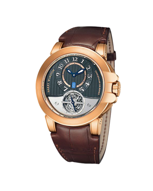 Harry Winston Ocean Tourbillon Project Z3 18K Rose Gold Limited Edition Men's Watch, Preowned-400-MAT44RL.AW