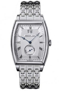 Breguet Heritage Big Date 18K White Gold Men's Watch Preowned-5480BB/12/BB0