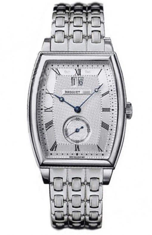 Breguet Heritage Big Date 18K White Gold Men's Watch, Preowned-5480BB/12/BB0