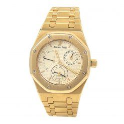 Audemars Piguet Royal Oak Dual Time 36mm 18K Yellow Gold Watch Preowned-25730BA.OO.0789BA.02