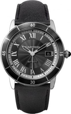 Cartier Ronde Croisiere De Cartier Stainless Steel Men's Watch WSRN0003