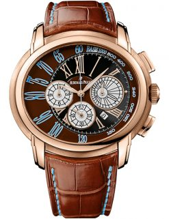 Audemars Piguet Millenary Chronograph 18K Rose Gold Men's Watch preowned.26145OR.OO.D095CR.01