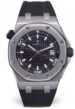 Audemars Piguet Wempe Royal Oak Offshore Stainless Steel Unisex Watch Preowned-15340ST.OO.D002CA.01