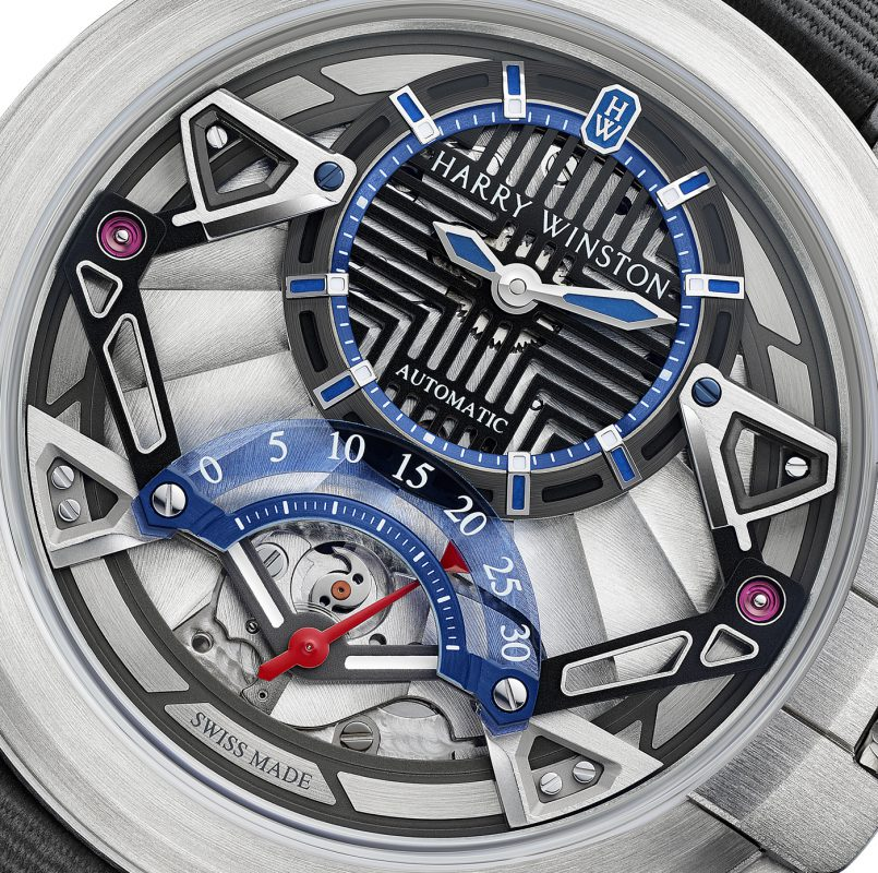 Harry Winston Unveils Limited Edition Project Z14 Watch