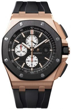 Audemars Piguet Royal Oak Offshore Chronograph 18K Rose Gold & Ceramic Men's Watc 26400RO.OO.A002CA.01