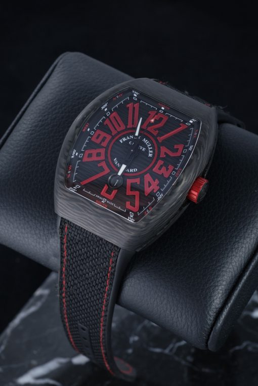 Franck Muller Vanguard Carbon Men's Watch, preowned-V 45 SC DT