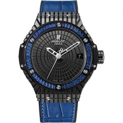 Hublot Big Bang Tutti Frutti Blue Caviar Unisex Watch preowned-346.CD.1800.LR.1901