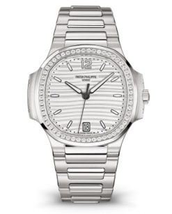 Patek Philippe Nautilus Stainless Steel & Diamonds Ladies Watch Preowned-7118/1200A-010