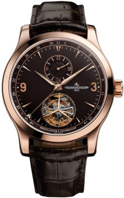 Jaeger LeCoultre Master Tourbillon 18k Rose Gold Men's Watch Preowned-Q1662450