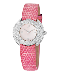 Audemars Piguet Mother of Pearl Quartz 18K White Gold & Diamonds Ladies Watch Preowned-66899BC