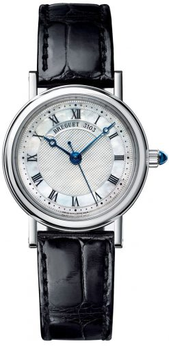 Breguet Classique 8067 18K White Gold Ladies Watch Preowned-8067BB
