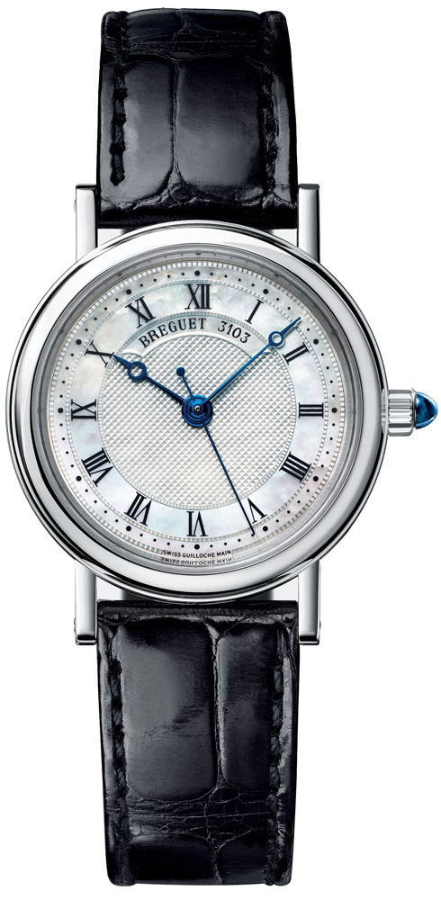 Breguet Classique 8067 18K White Gold Ladies Watch, Preowned-8067BB