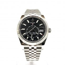 Rolex Oyster Perpetual Stainless Steel 42mm Sky-Dweller Watch 326934