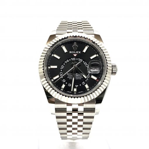 Rolex Oyster Perpetual Stainless Steel 42mm Sky-Dweller Watch, 326934