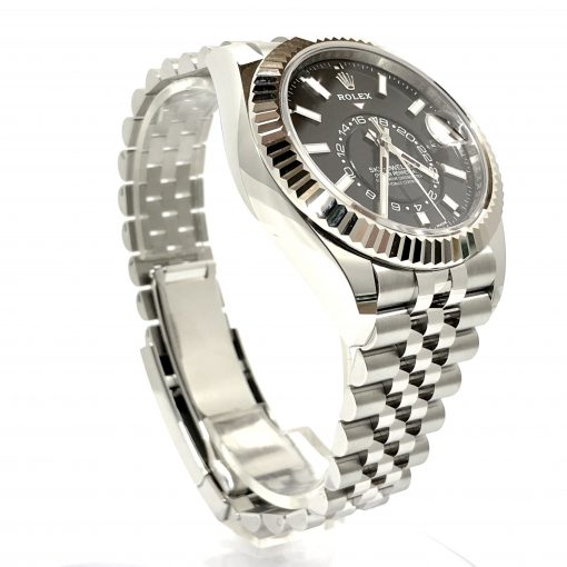 Rolex Oyster Perpetual Stainless Steel 42mm Sky-Dweller Watch, 326934 3