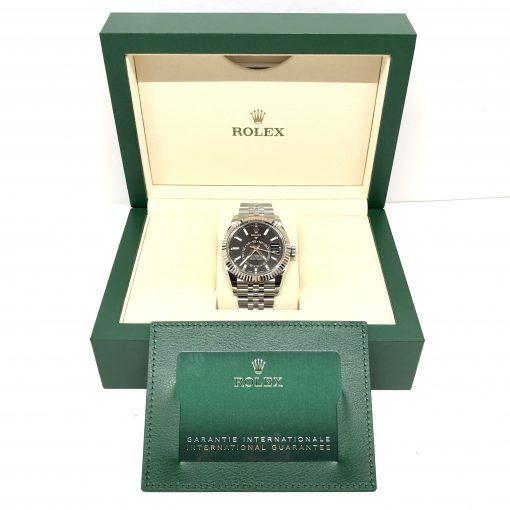 Rolex Oyster Perpetual Stainless Steel 42mm Sky-Dweller Watch, 326934 4