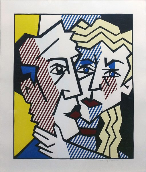 Roy Lichtenstein, The Couple, 1980, art-picture-the-couple