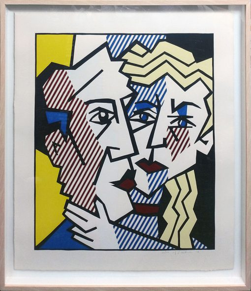 Roy Lichtenstein, The Couple, 1980, art-picture-the-couple 2