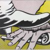 Roy Lichtenstein, Foot and Hand, 1964, art-lithograph-foot-and-hand 1